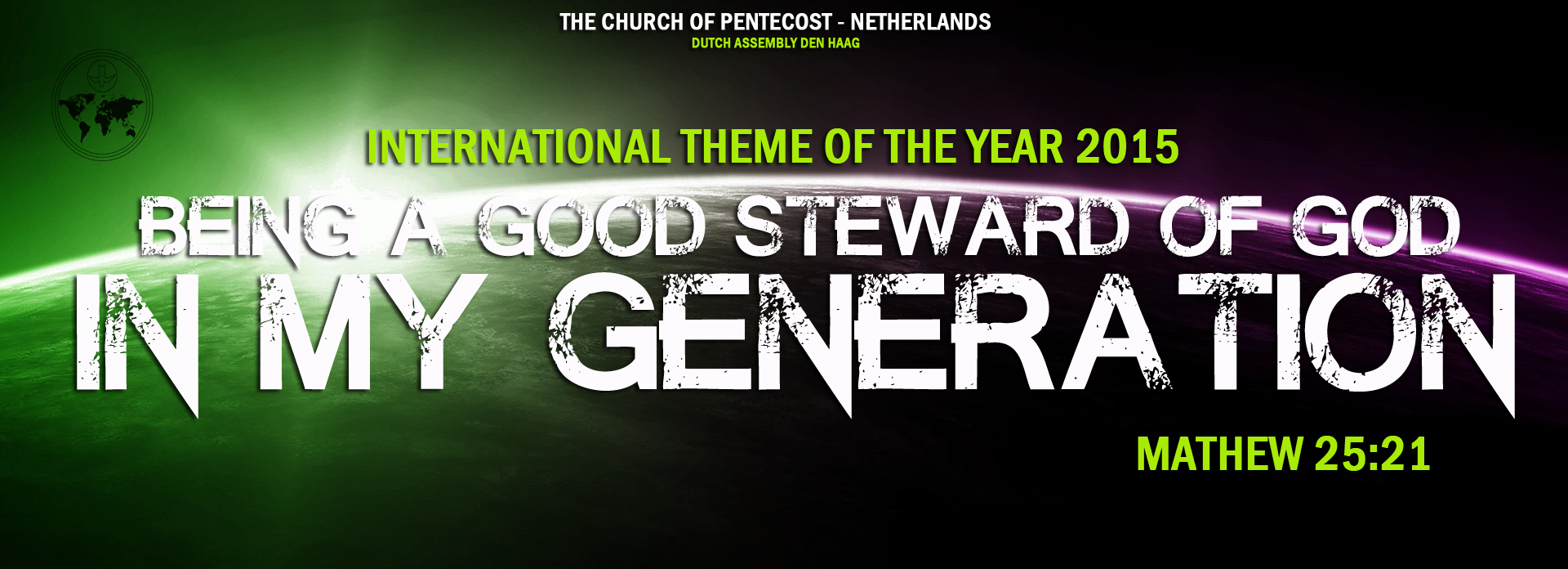 new year new things in 2015 | Dutch Church of Pentecost Holland